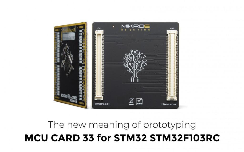 MCU Card 33 for STM32 STM32F103RC