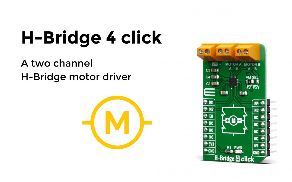 H-Bridge 4 click