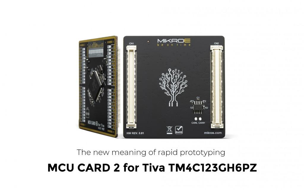 MCU Card 2 for Tiva