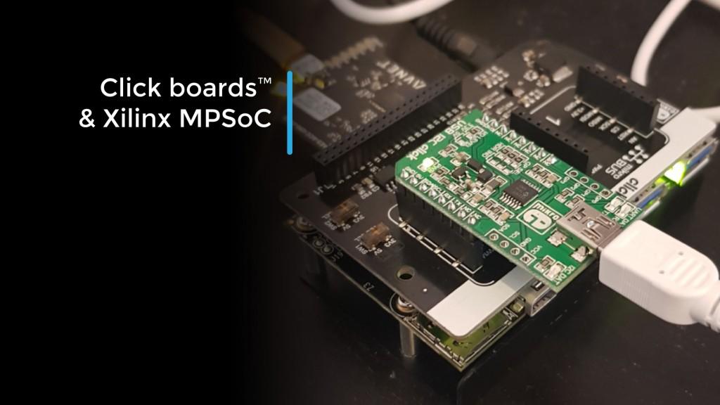 USB I2C Click x Xilinx FPGA