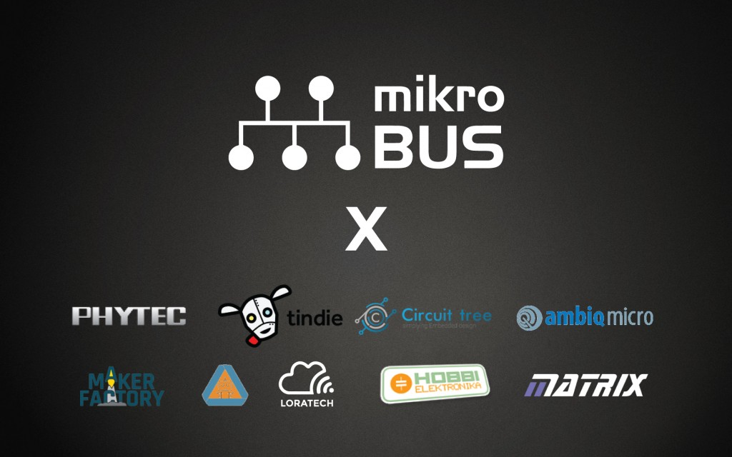 New boards adopt mikroBUS™