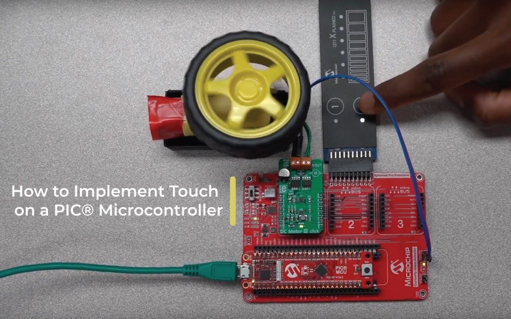 How to Implement Touch on a PIC® Microcontroller