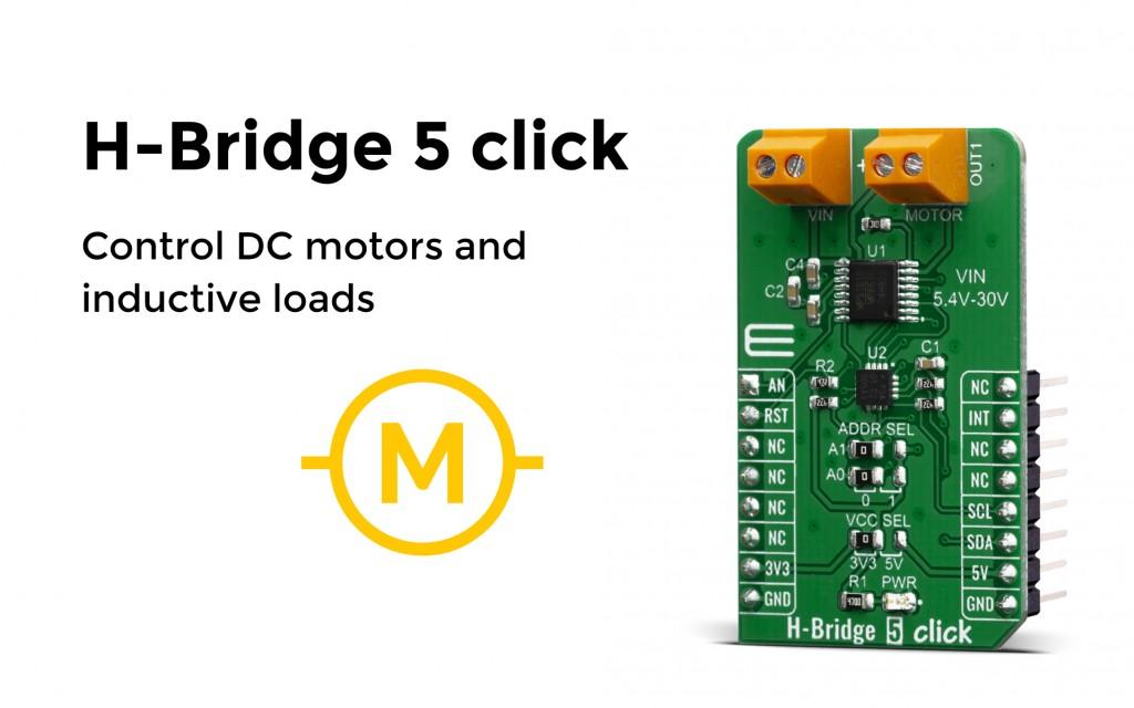 H-Bridge 5 click