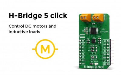 H-Bridge 5 click