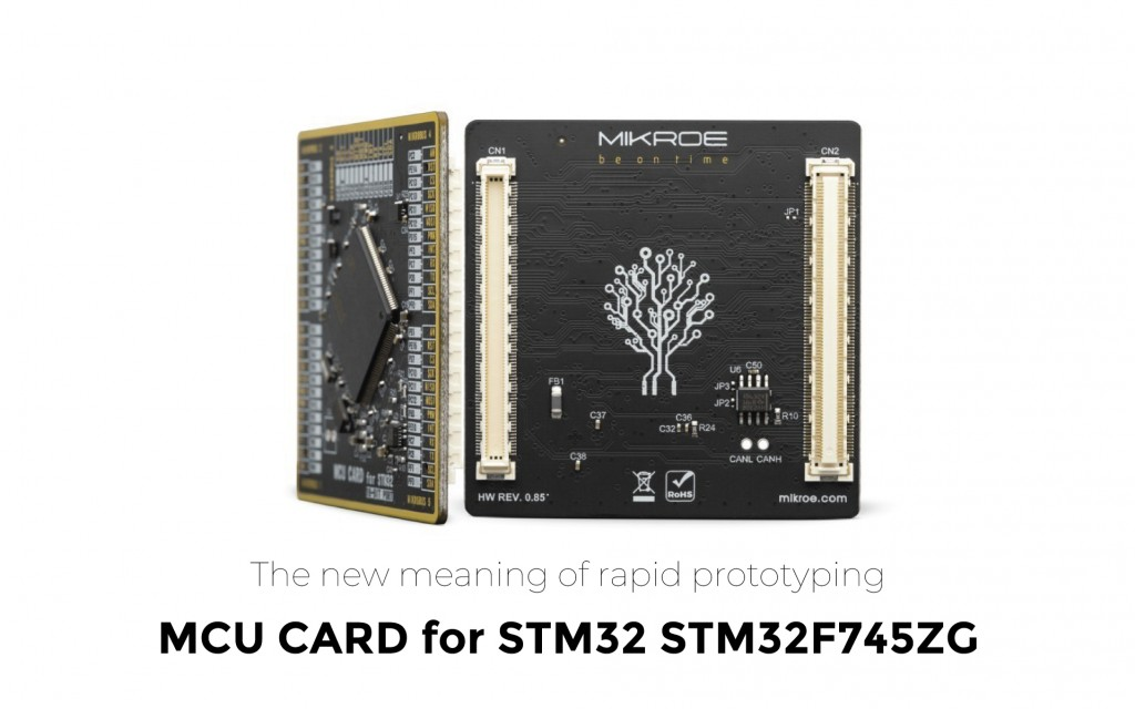 New MCU Card for STM32