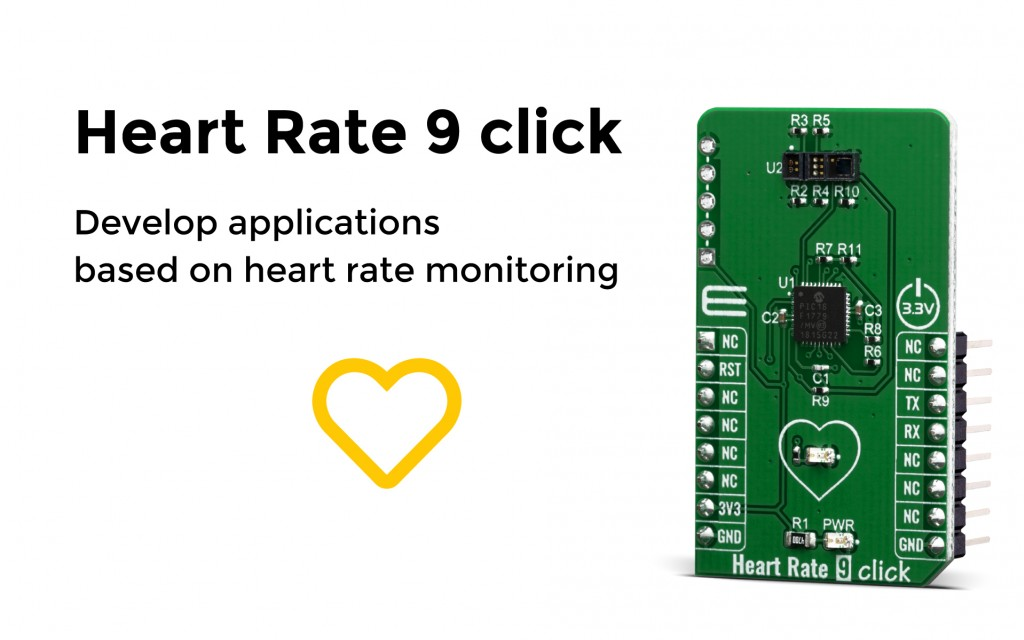 Heart Rate 9 click
