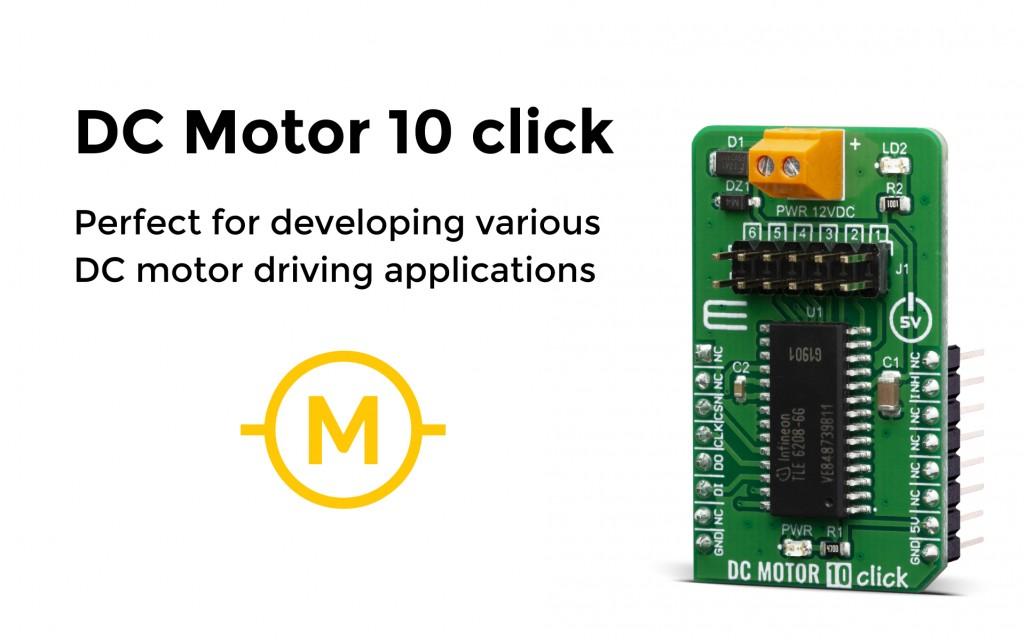 DC Motor 10 Click