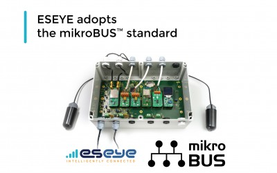 ESEYE adopts the mikroBUS™ standard
