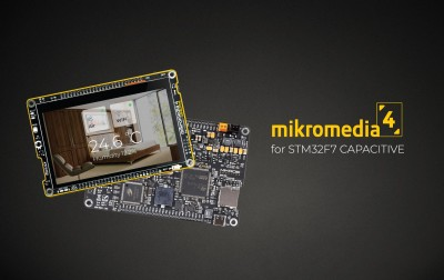 mikromedia 4 for STM32F7 CAPACITIVE