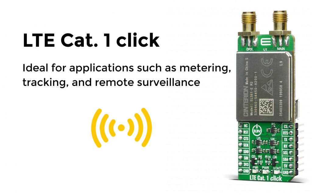 LTE Cat.1-EU click