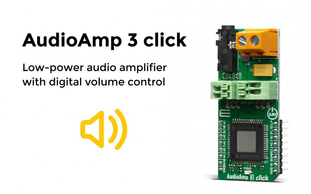 Audio Amp 3 click