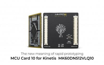 MCU CARD 10 for Kinetis MK60DN512VLQ10