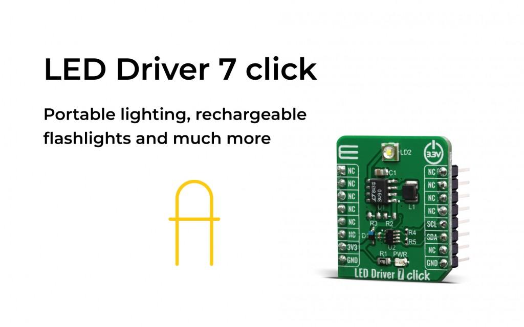 LED Driver 7 click