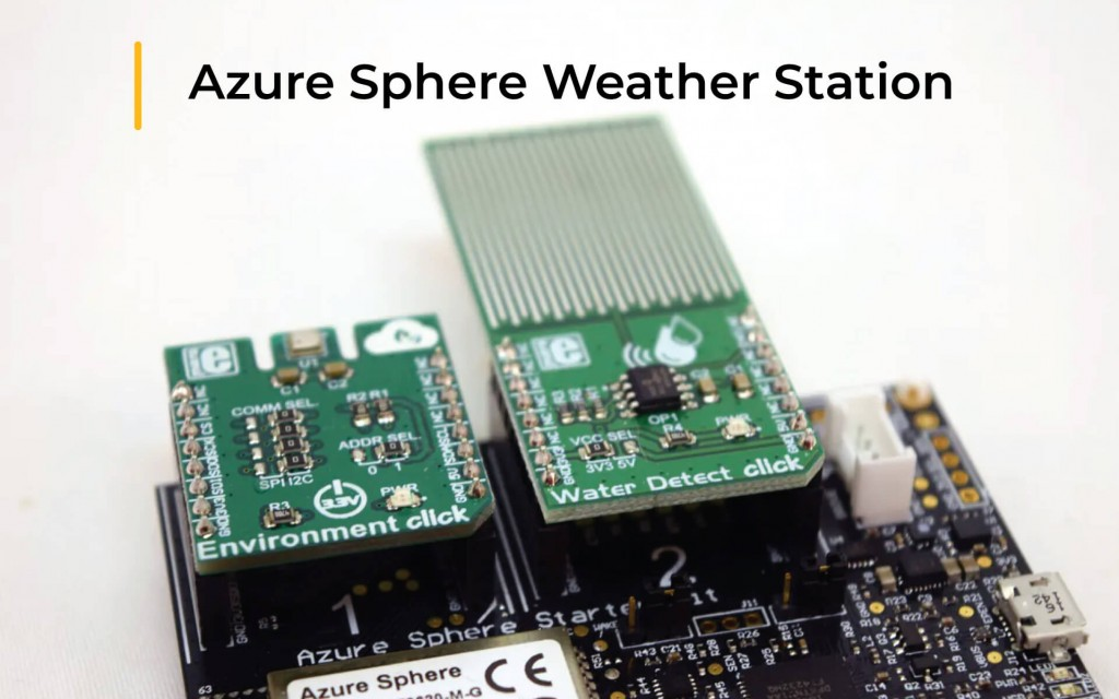Azure Sphere Weather Station