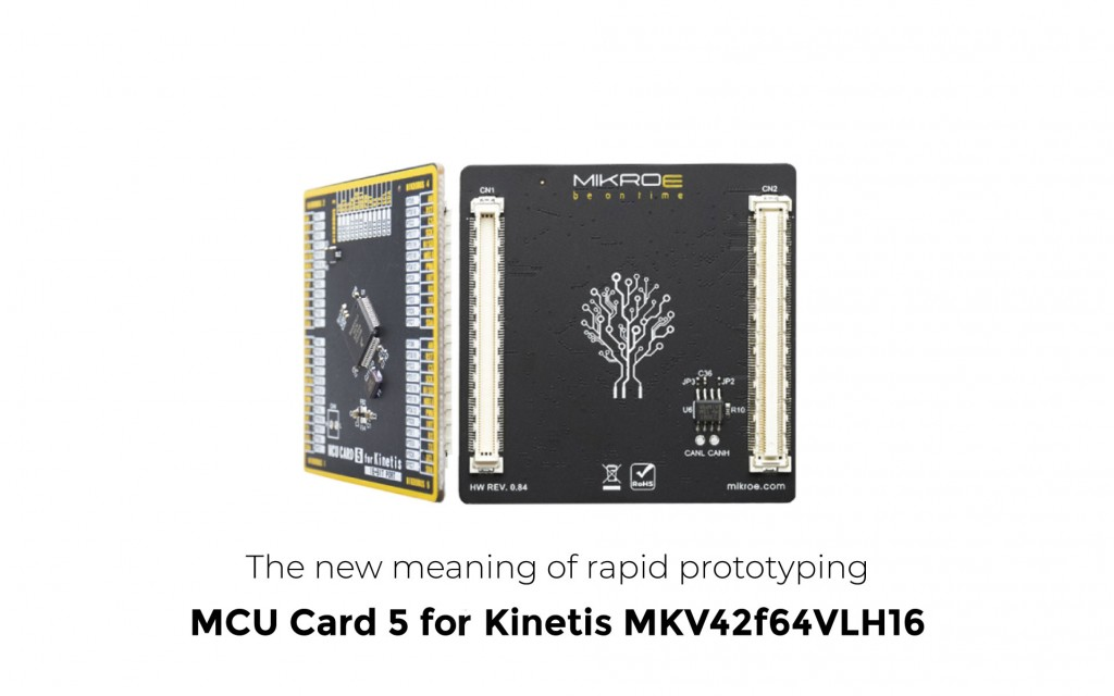 MCU Card 5 for Kinetis MKV42F64VLH16
