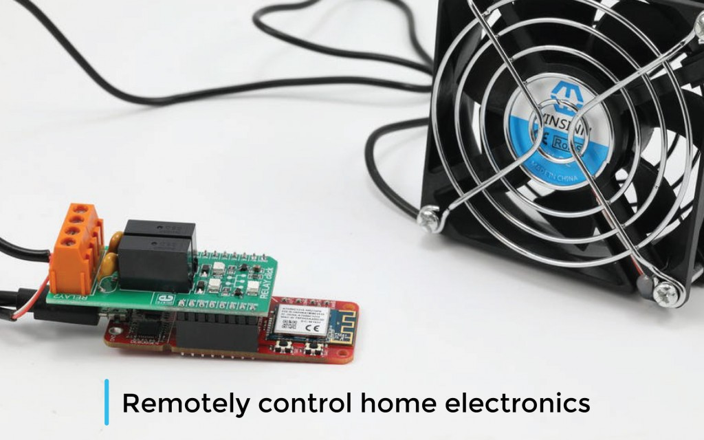 Remotely control home electronics