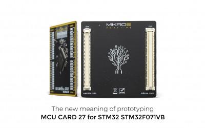 MCU Card 27 for STM32 STM32F071VB