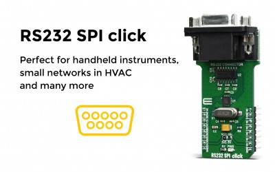 RS232 SPI click