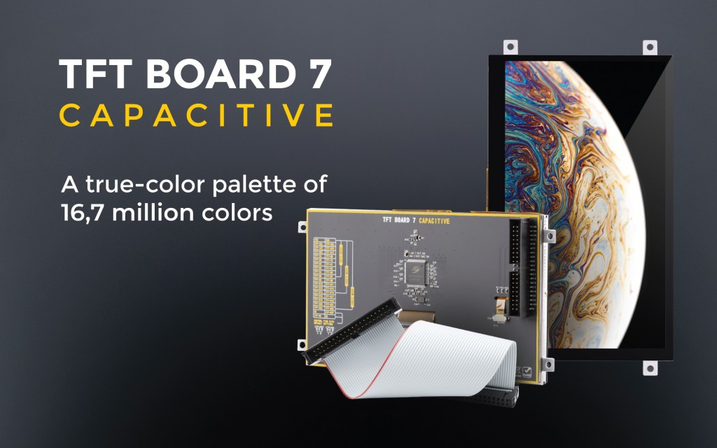 The TFT Board 7 Capacitive with frame