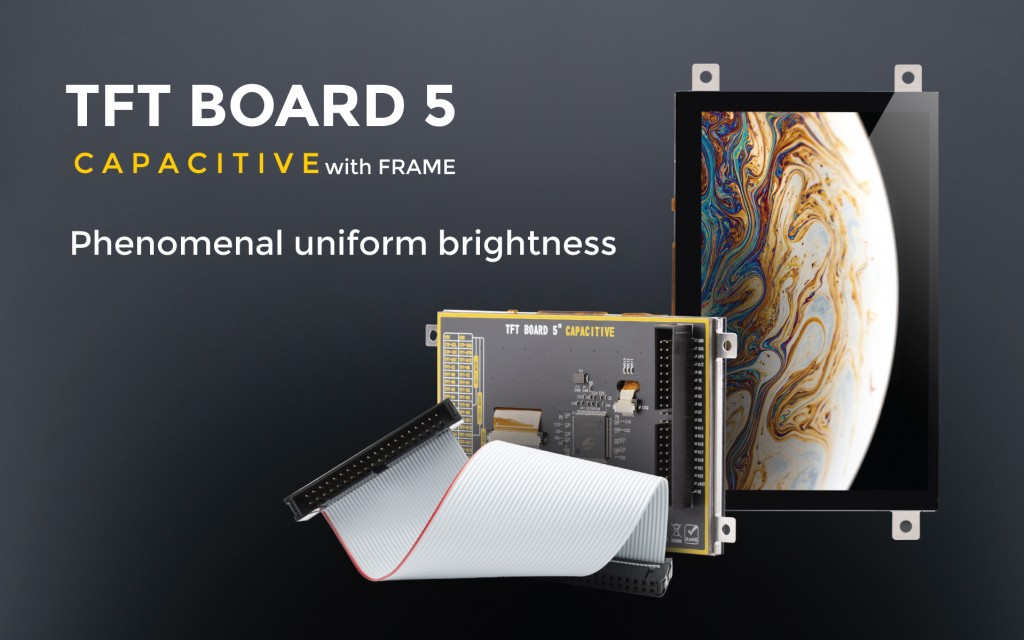 The TFT Board 5 Capacitive with frame