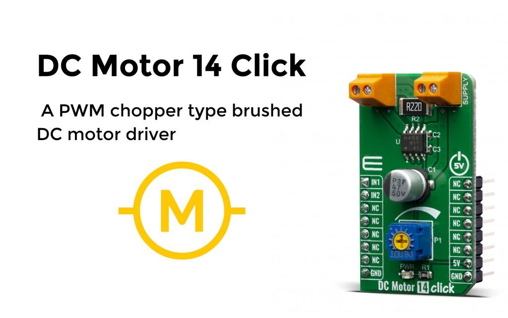 DC Motor 14 Click