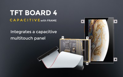TFT Board 4 Capacitive with frame