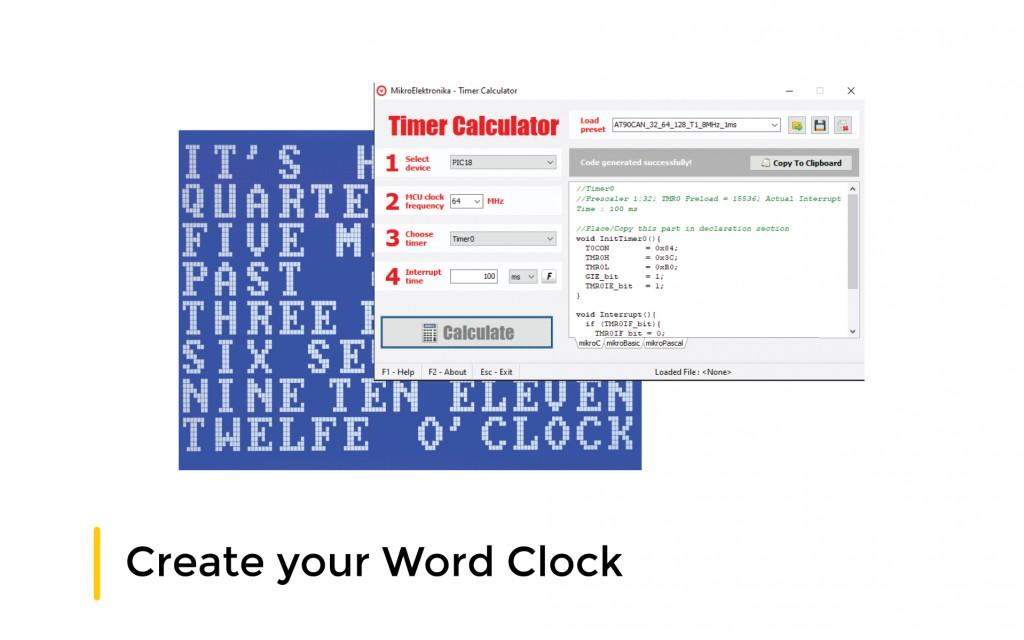 Create your Word Clock
