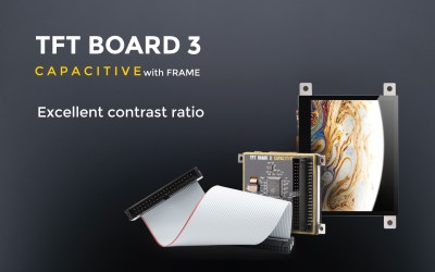 TFT Board 3 Capacitive with frame