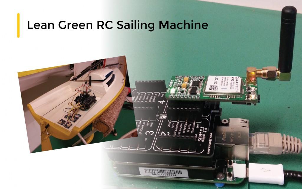 Lean Green RC Sailing Machine