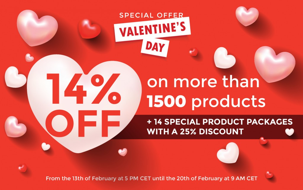 VALETINE'S DAY offer