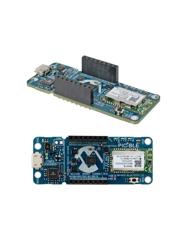 Two new Microchip boards have also adopted the mikroBUS™ standard