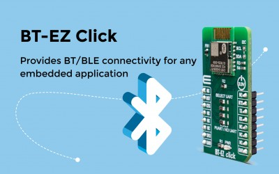 Provides BT/BLE connectivity for any embedded application