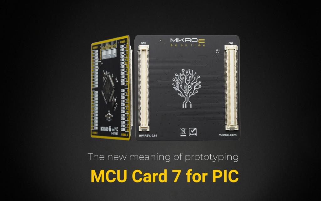 MCU CARD 7 FOR PIC PIC18F85J50