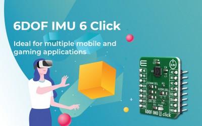 6DOF IMU 6 Click
