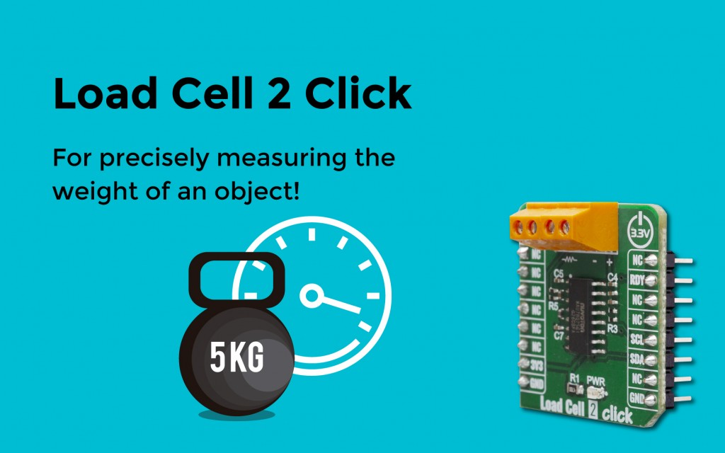 Load Cell 2 Click