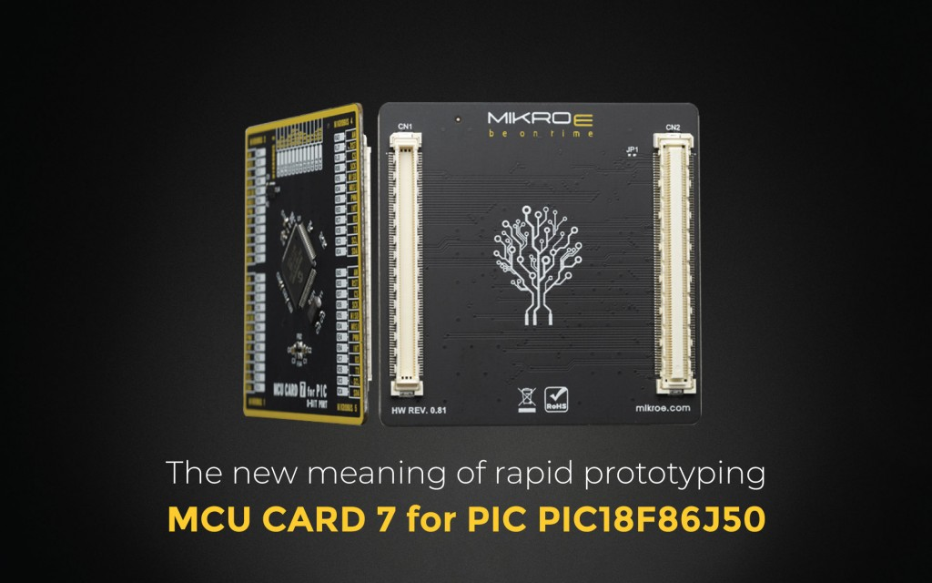 MCU Card 7 for PIC PIC18F86J50