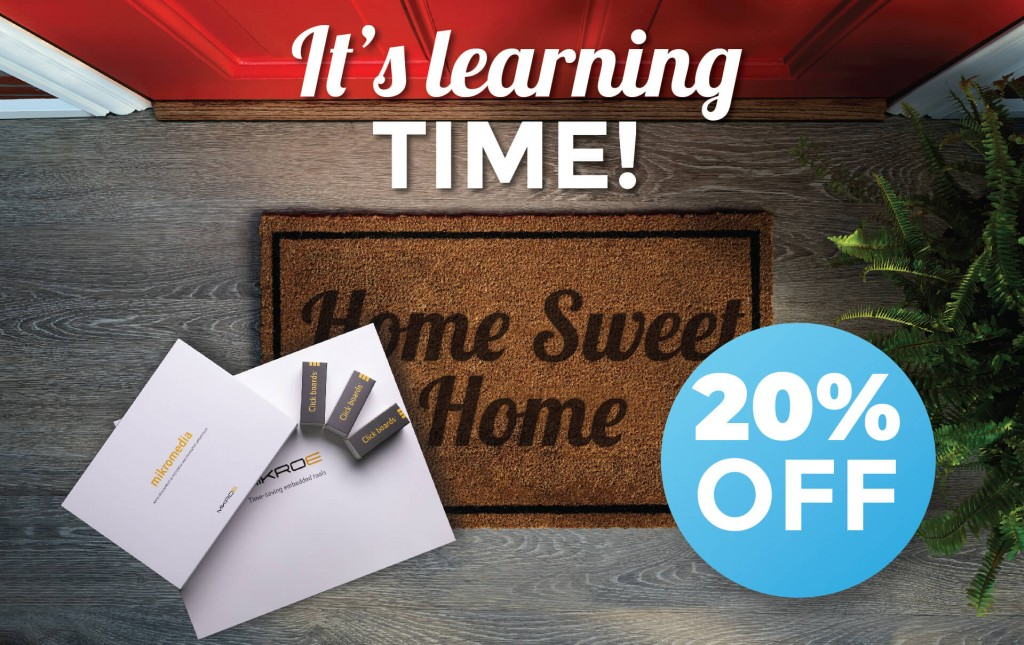 IT'S LEARNING TIME offer – 20% flat discount + 30% off on selected products & bundles
