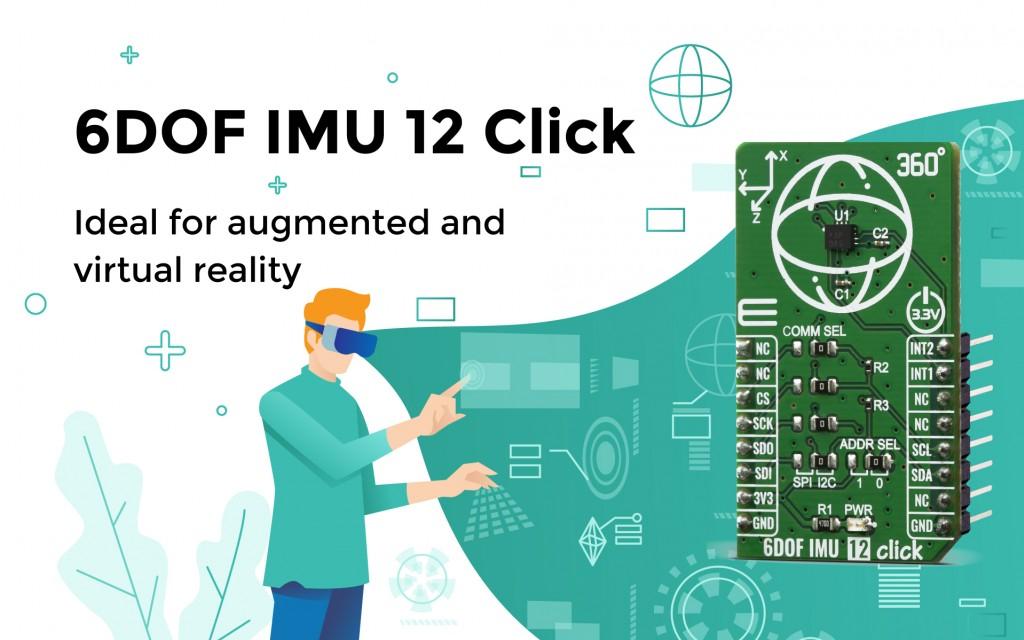 6DOF IMU 12 Click