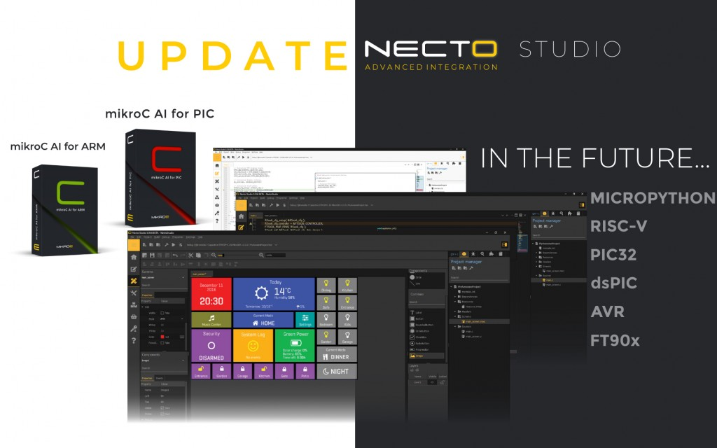 NECTO is now available for PIC!