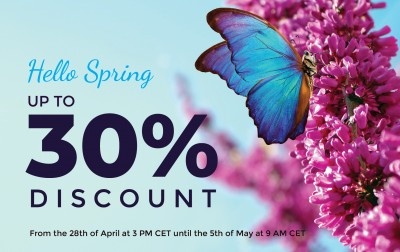 Hello Spring: Up to 30% OFF everything in our store