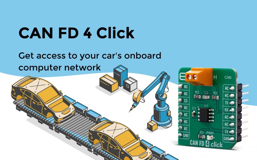 CAN FD 4 Click