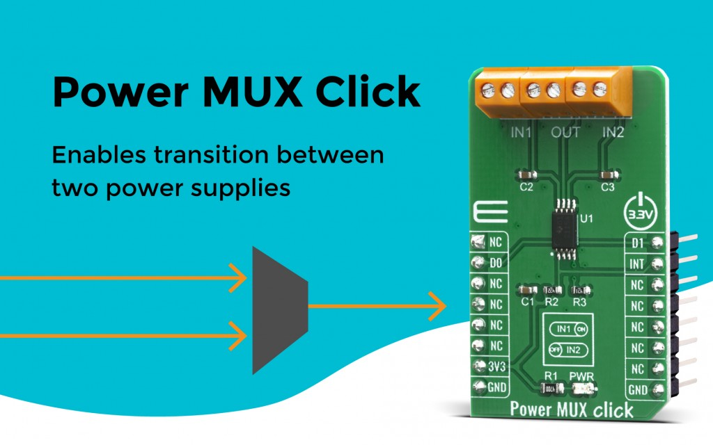 Power MUX Click