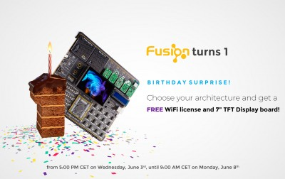 FUSION TURNS ONE!