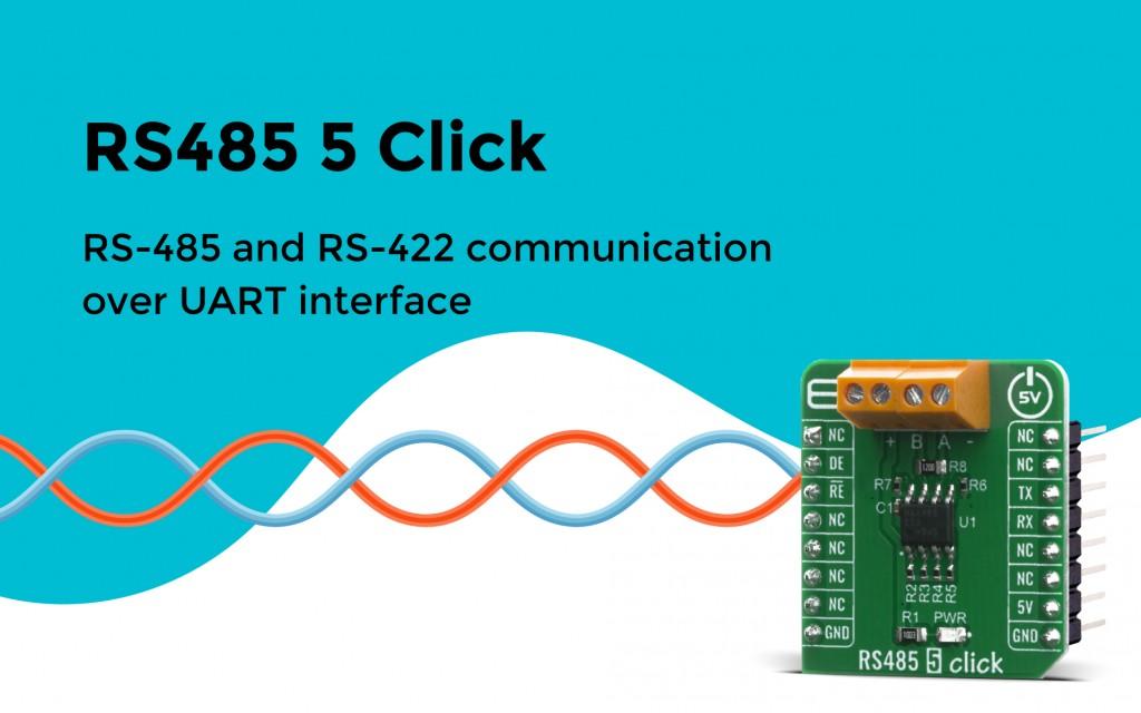 RS485 5 Click