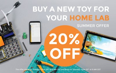 Buy new toys for your Home Lab with 20% DISCOUNT!