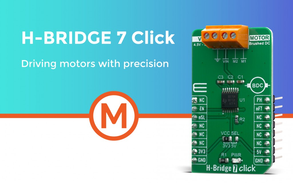 H-Bridge 7 Click