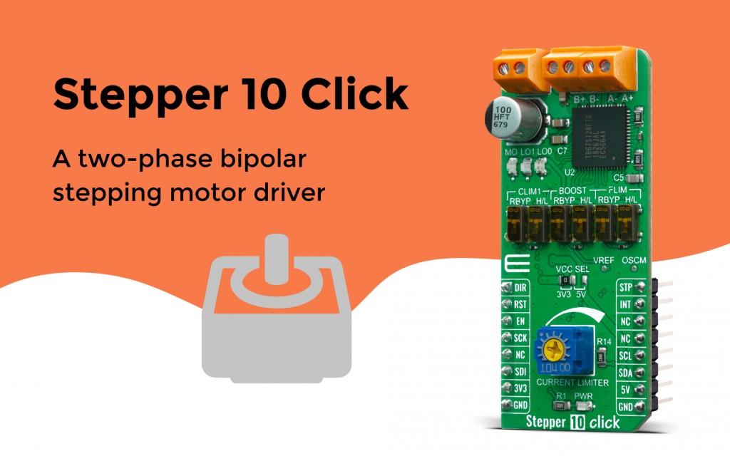 Stepper 10 Click