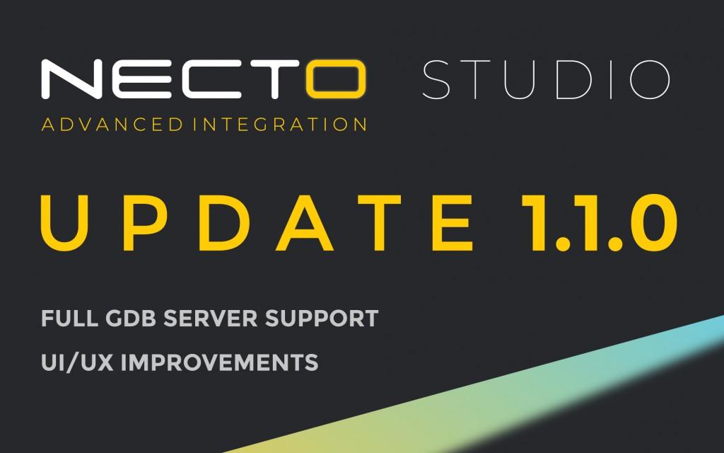 NECTO Studio update 1.1.0