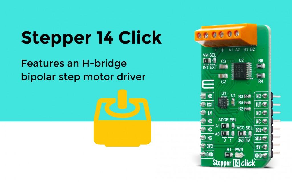 Stepper 14 Click