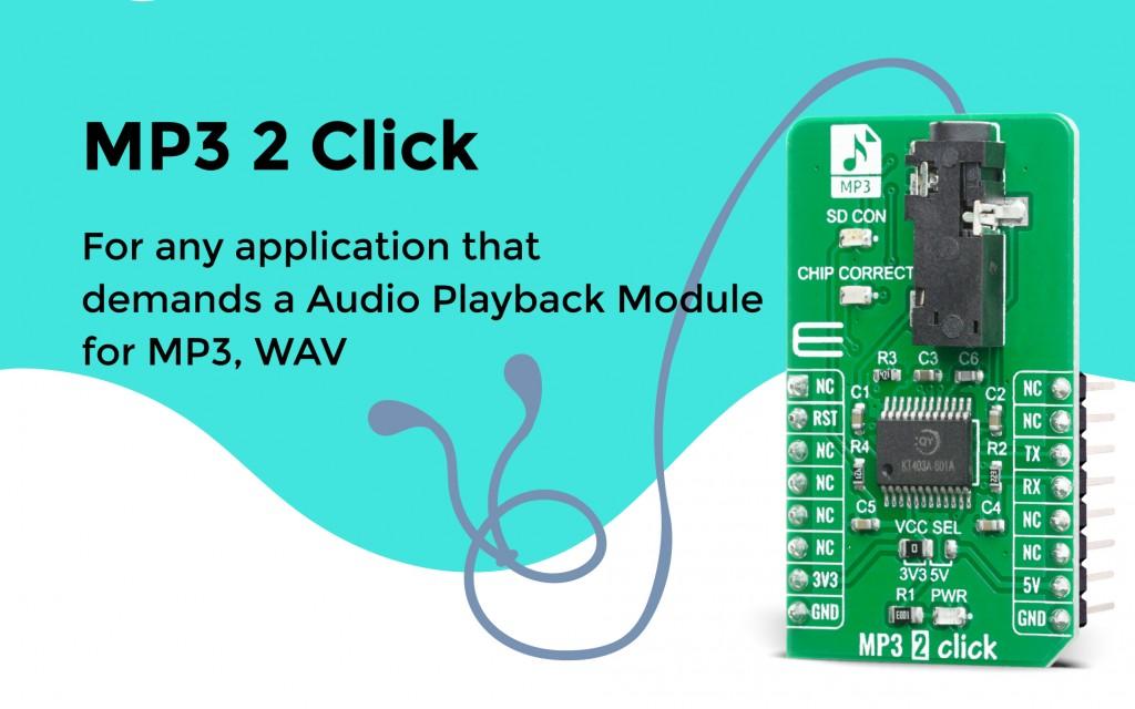 MP3 2 Click